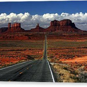Monument Valley photo print signed